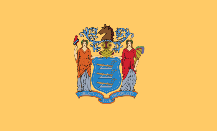 NJ State Flag - NJ State Drone Laws