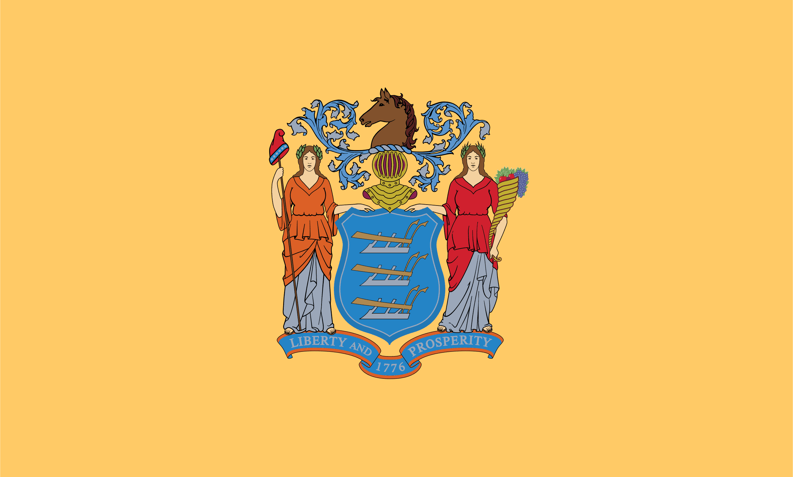 New Jersey Flag - New Jersey Drone Laws
