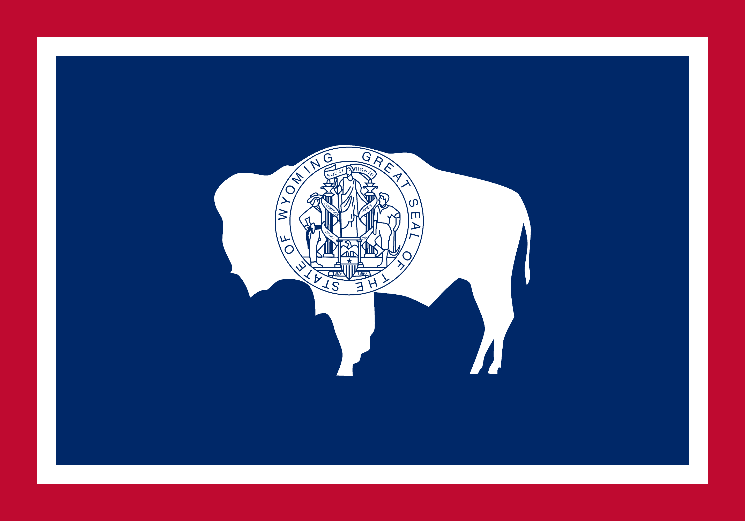 Wyoming Flag - Wyoming Drone Laws