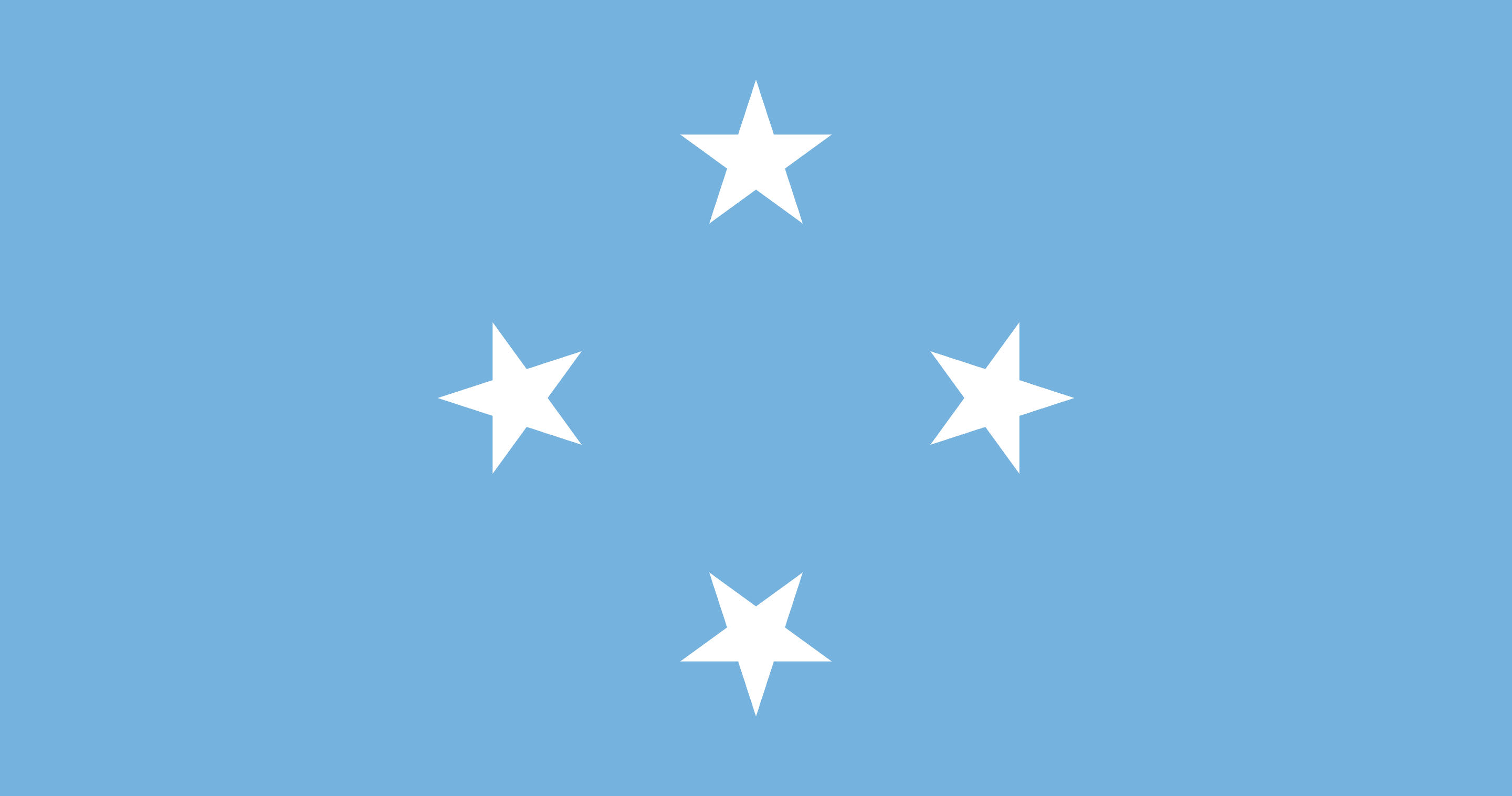 Federated States of Micronesia Flag - Micronesia Drone Laws