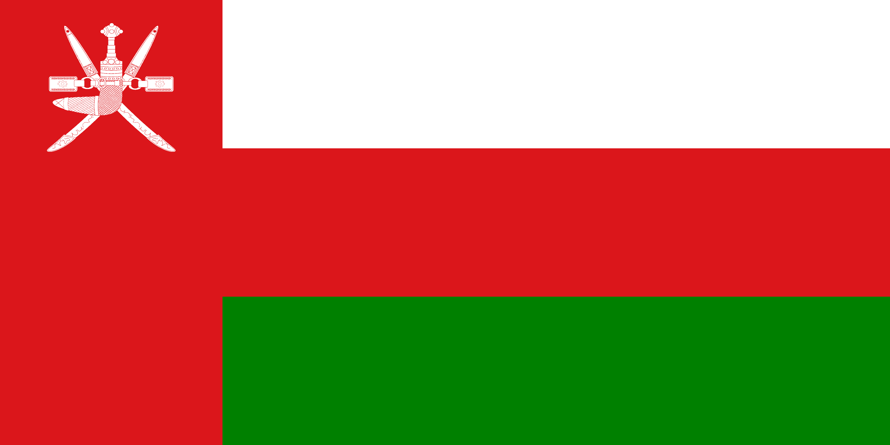 Oman Flag - the Sultanate of Oman Drone Laws