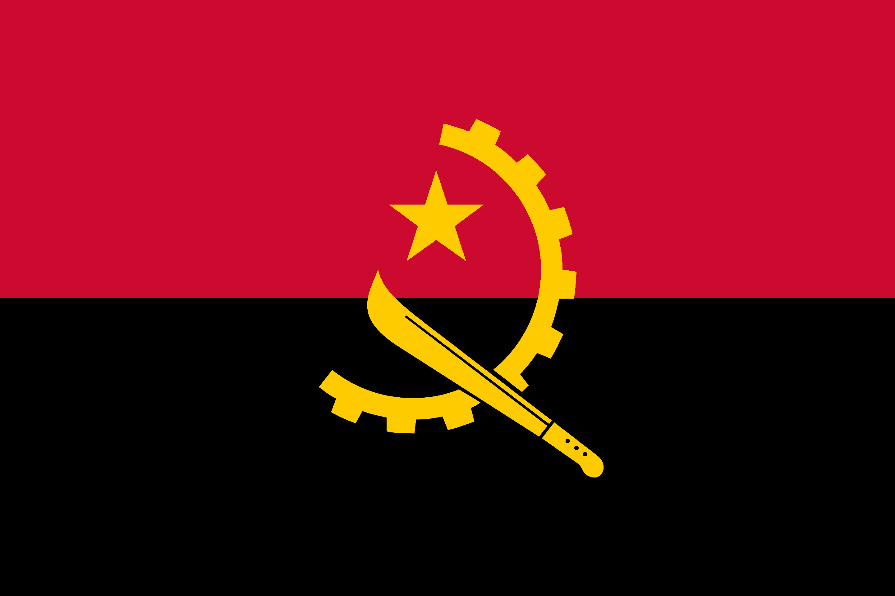 Republic of Angola Flag - Drone laws in Angola