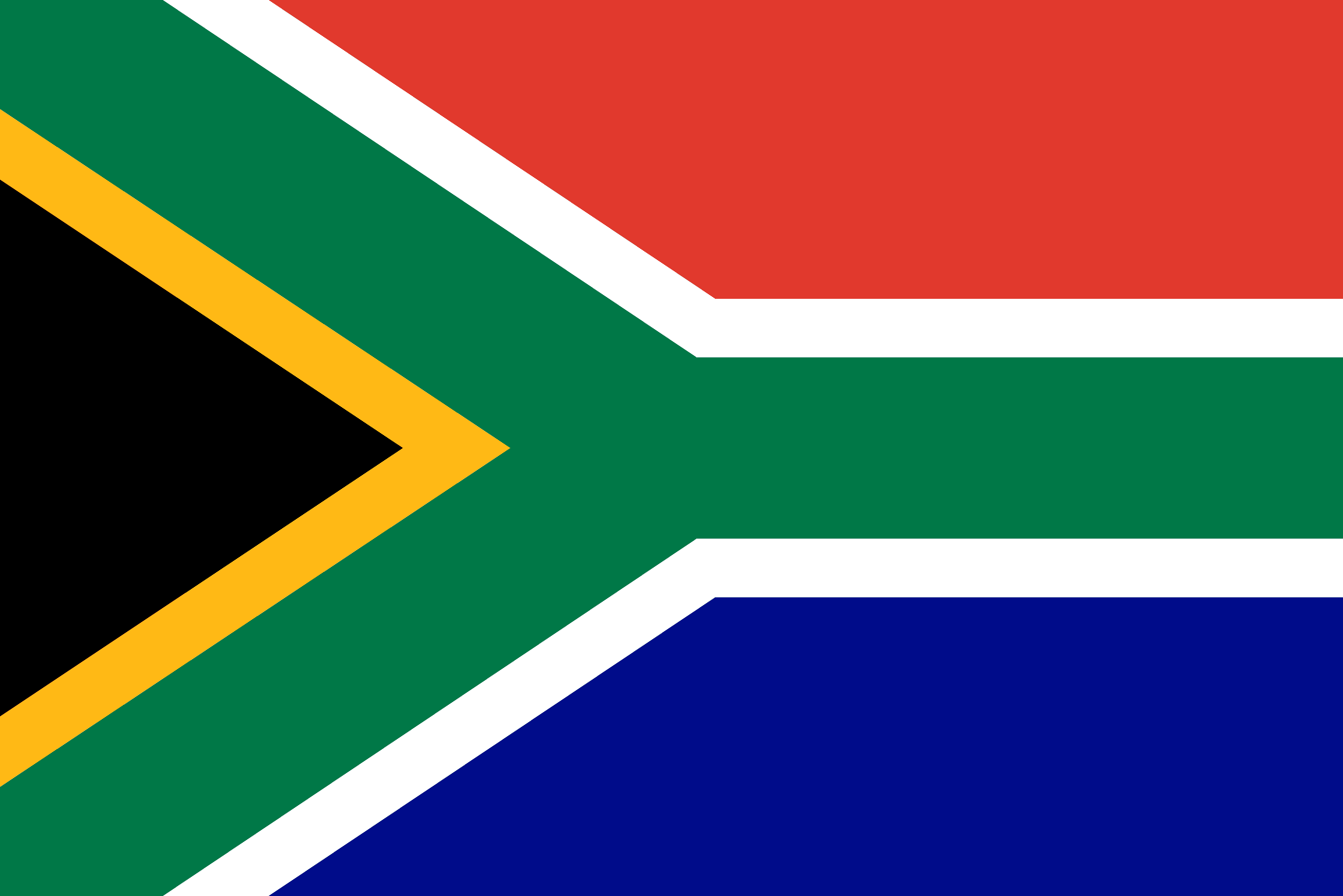 South Africa Flag - South Africa Drone Laws