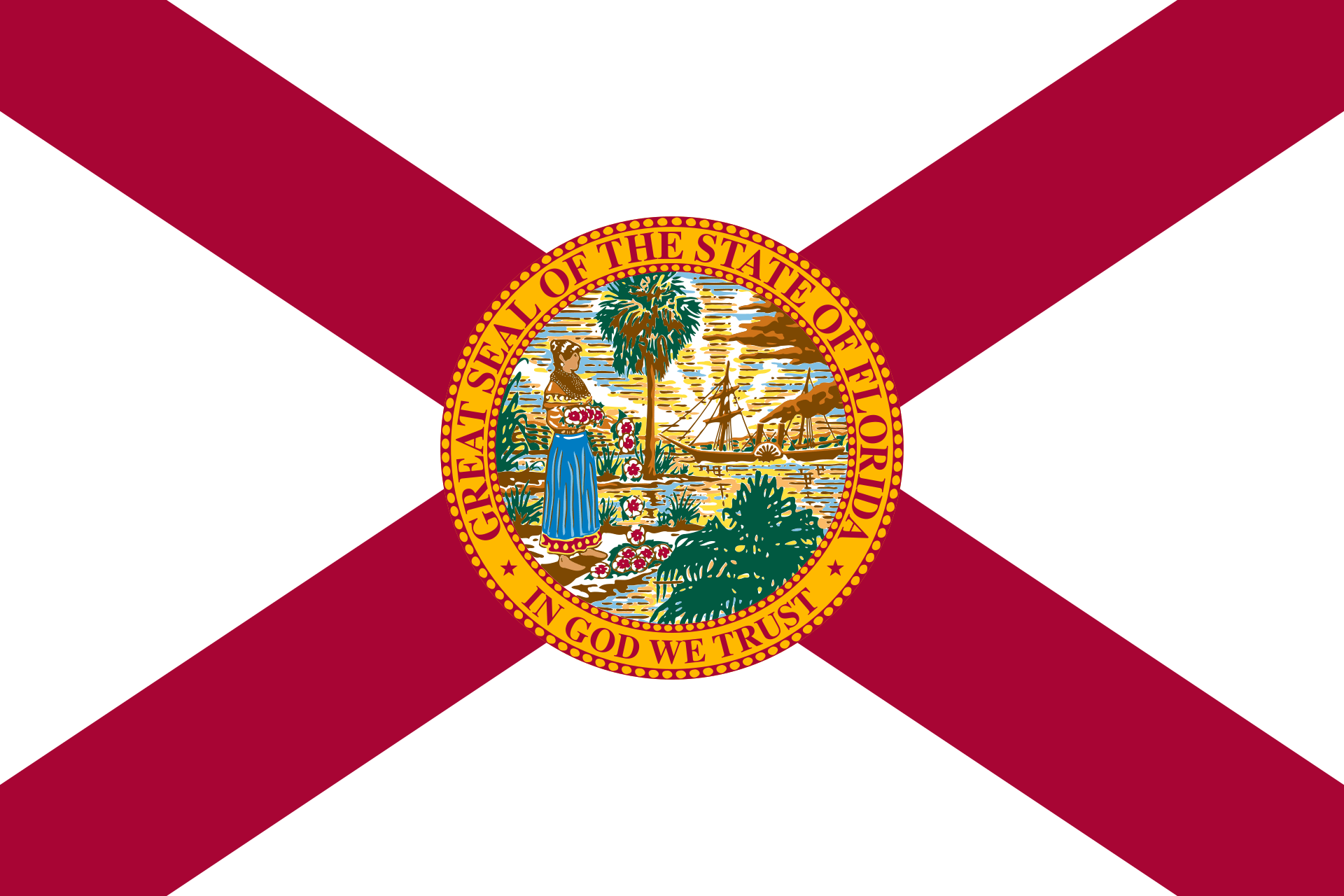 State of Florida Flag - Florida Drone Laws