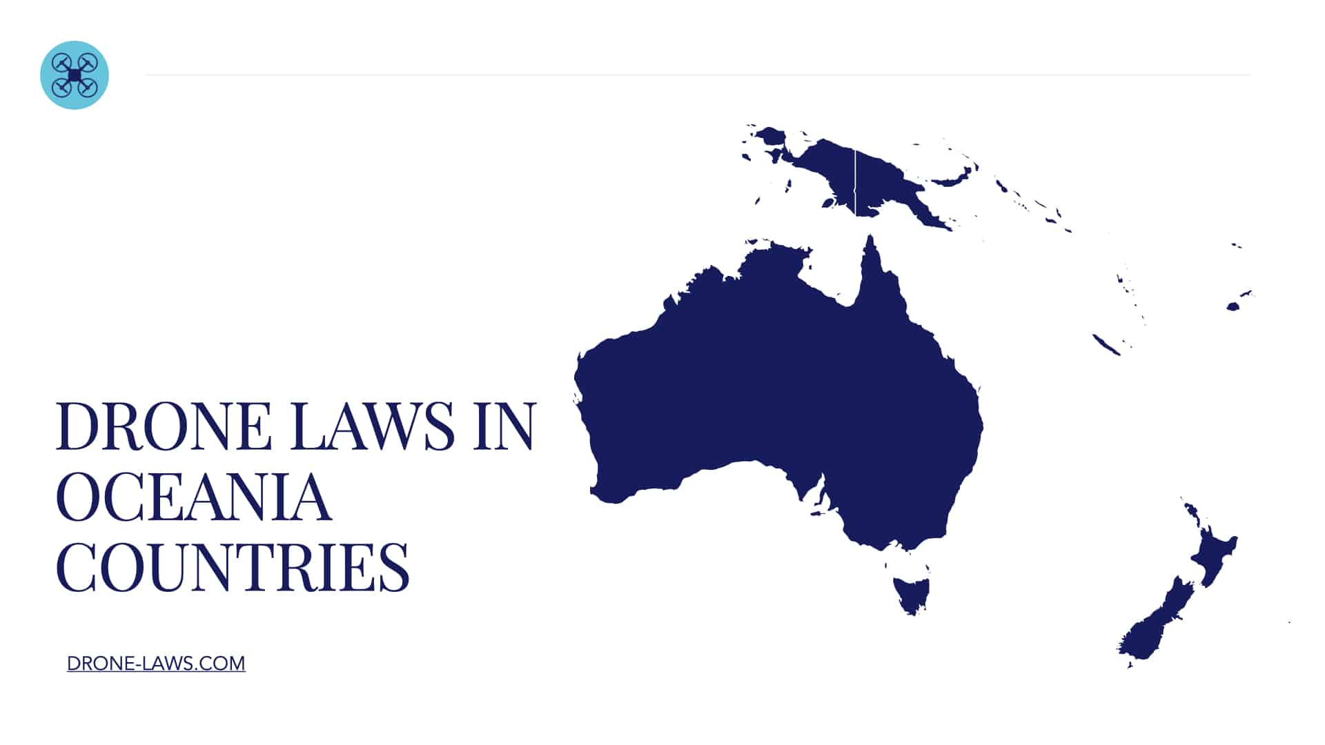 Drone Laws in Oceania Countries