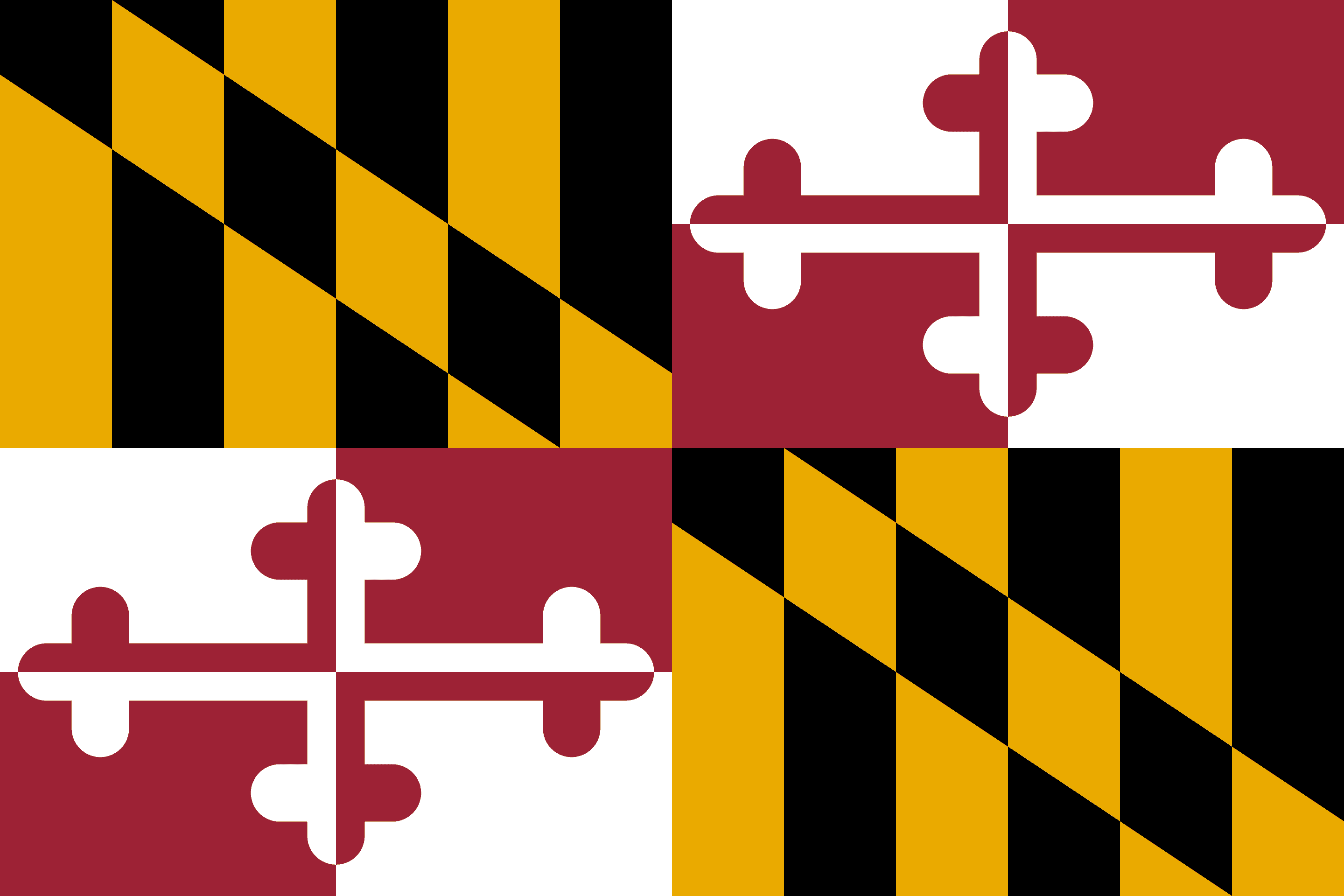 State of Maryland Flag - Maryland Drone Laws